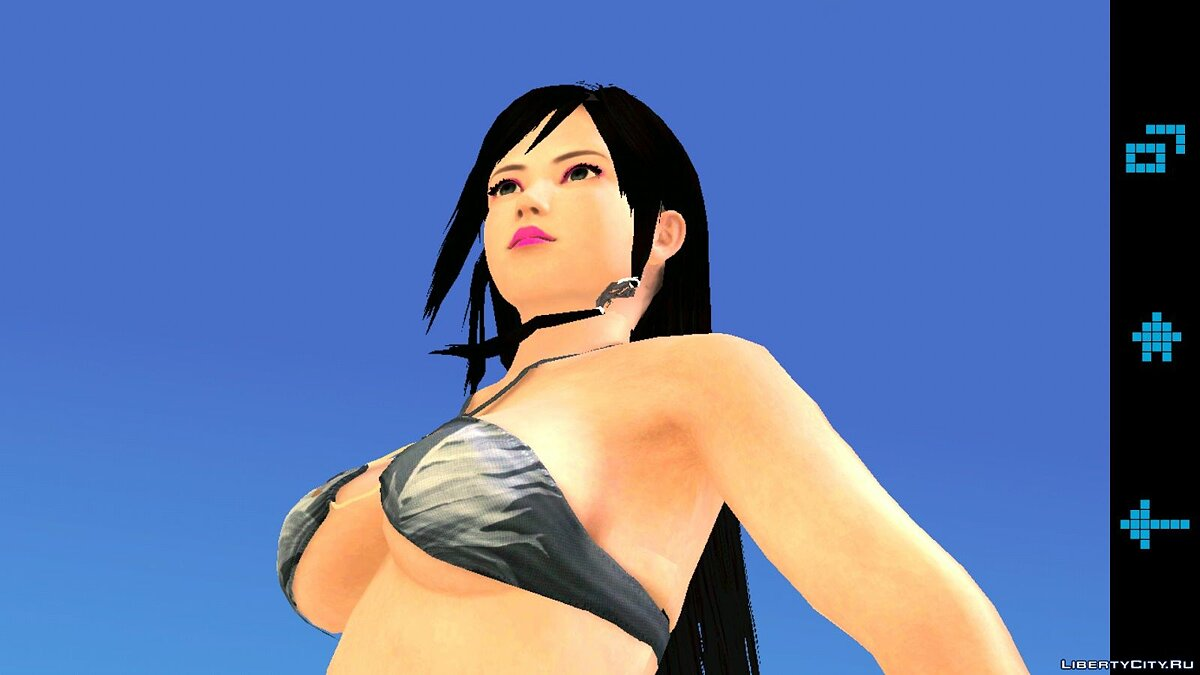 Hot Kokoro Bikini - Girl in a swimsuit for GTA San Andreas (iOS, Android) - Картинка #2