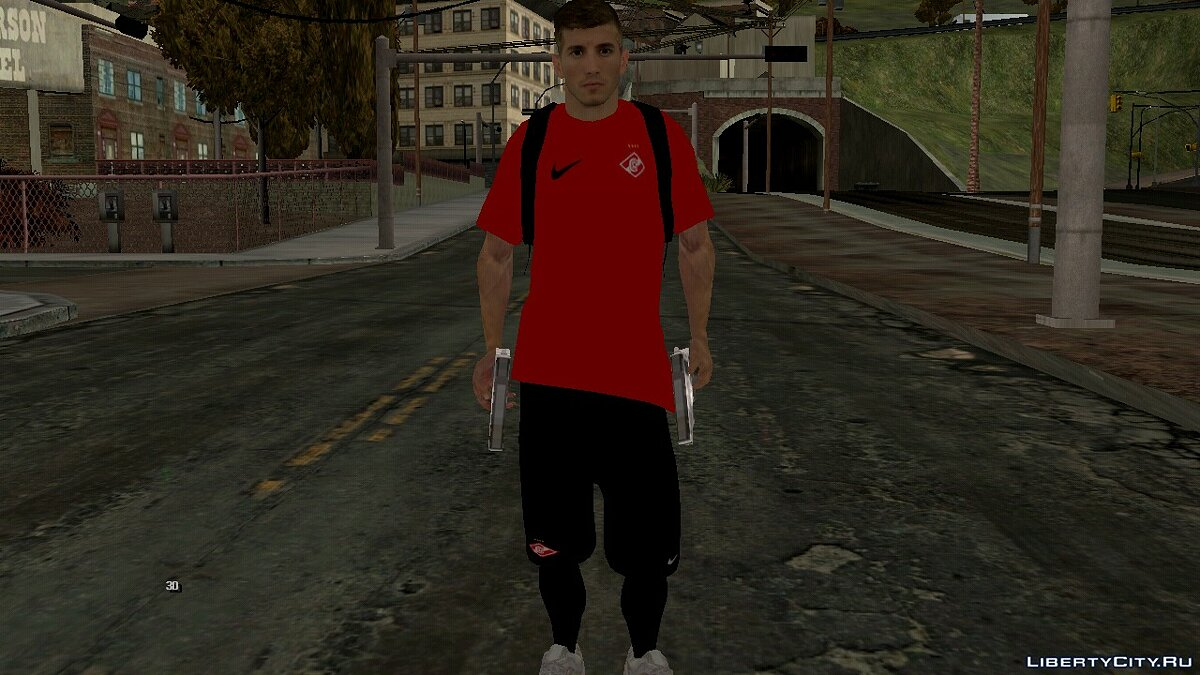 New character Football player of FC