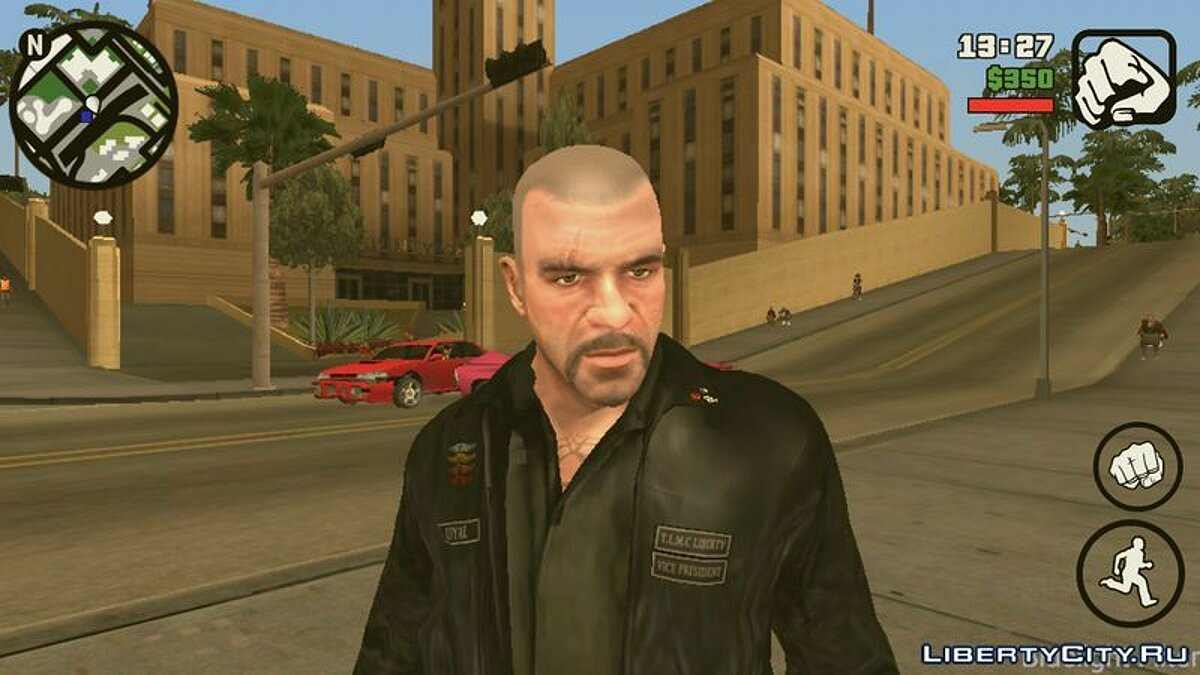 Johnny Klebitz (Player.img / Android) for GTA San Andreas (iOS, Android) - screenshot #2