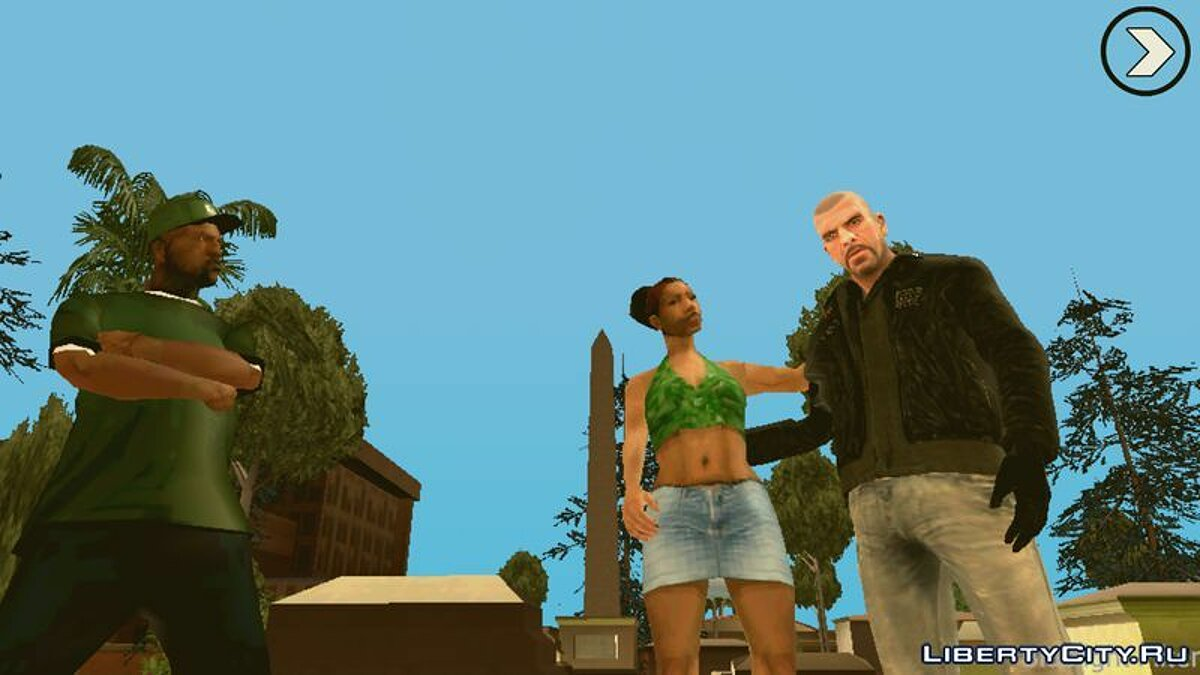 Johnny Klebitz (Player.img / Android) for GTA San Andreas (iOS, Android) - screenshot #4