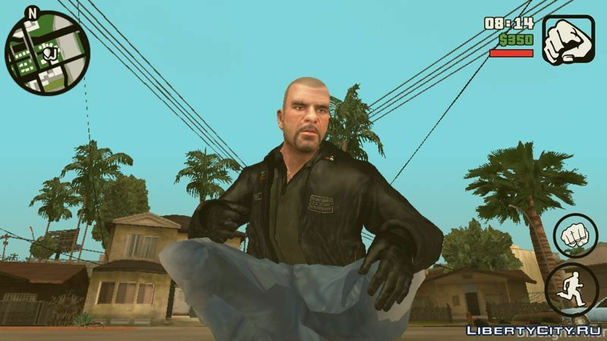 Johnny Klebitz (Player.img / Android) for GTA San Andreas (iOS, Android)