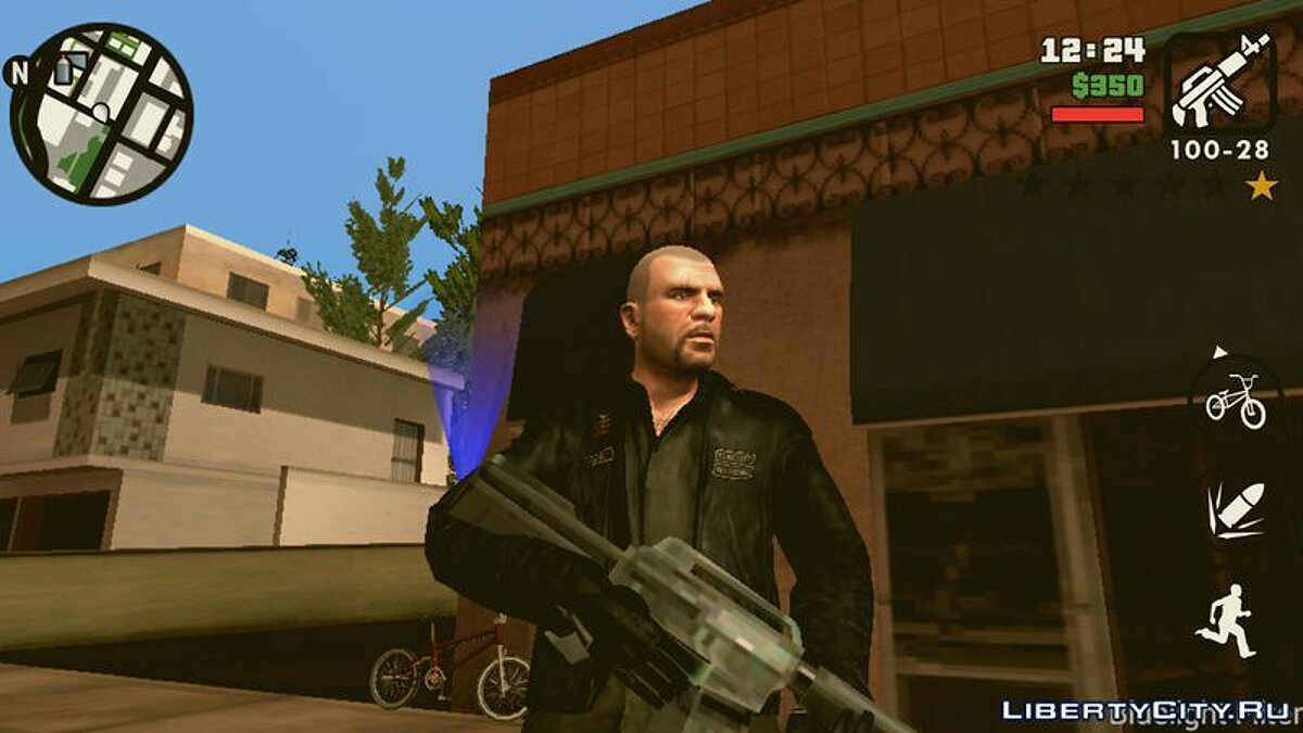 Johnny Klebitz (Player.img / Android) for GTA San Andreas (iOS, Android) - screenshot #3