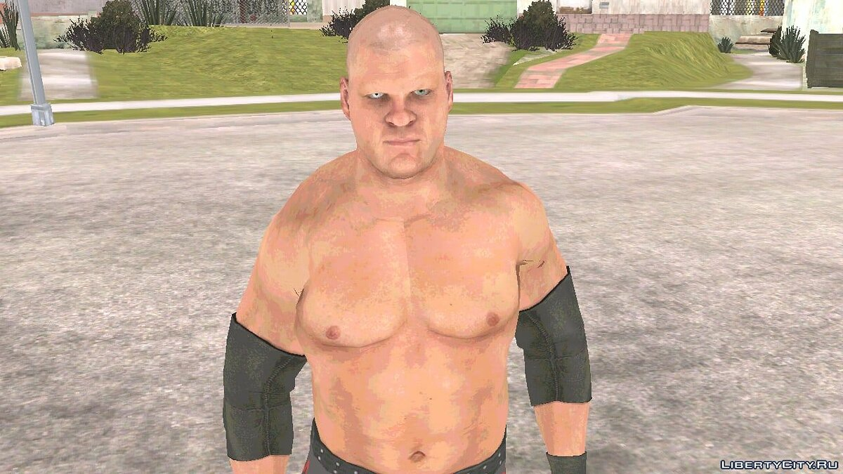 New character Kane from Smackdown Vs Raw 2011 for GTA San Andreas (iOS, Android)
