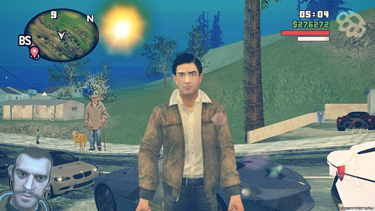 New character Vito Scaletta from the game