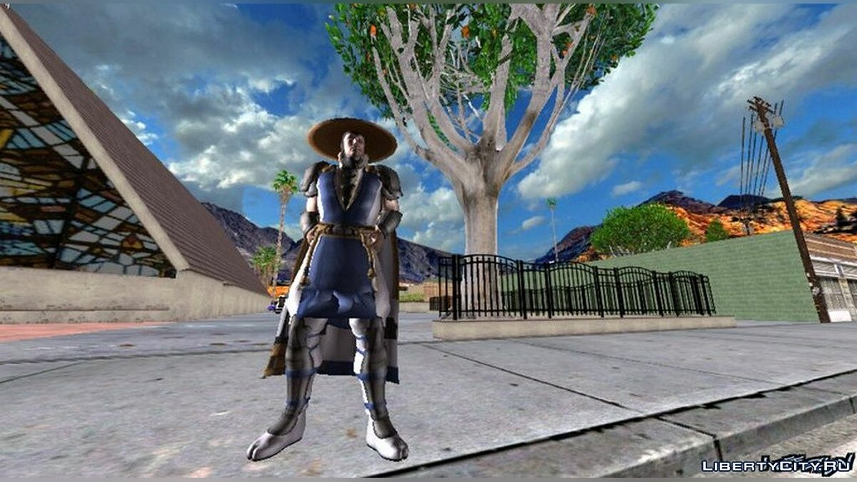 New character Raiden from Mortal Kombat for GTA San Andreas (iOS, Android)