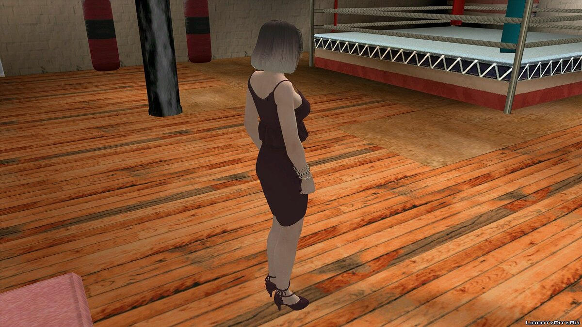 New character Tina Armstrong in Casual Wear v8 for GTA San Andreas (iOS, Android)