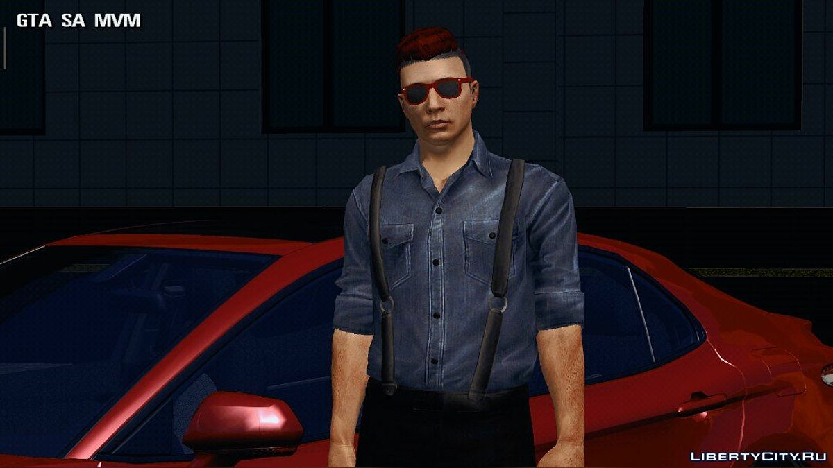 New character Male skin for GTA San Andreas (iOS, Android)