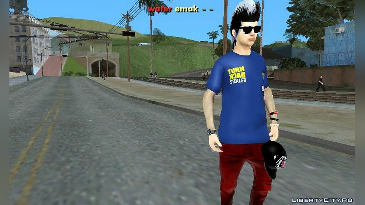 New character Скин TBS for GTA San Andreas (iOS, Android)