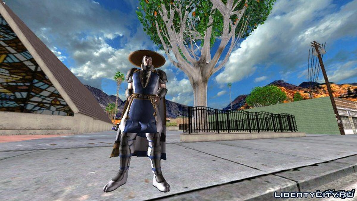Ryden from Mortal Kombat for GTA San Andreas (iOS, Android) - Картинка #1