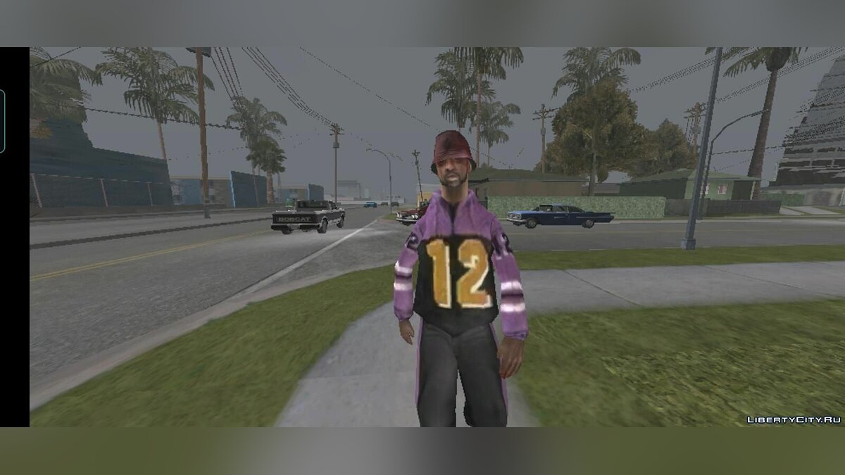 New character Ballas 12 Hoodie Dude for GTA San Andreas (iOS, Android)
