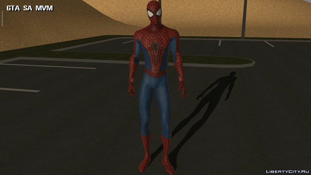 New character Spiderman for GTA San Andreas (iOS, Android)