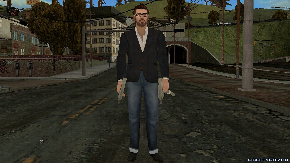 New character Mark Jefferson for GTA San Andreas (iOS, Android)