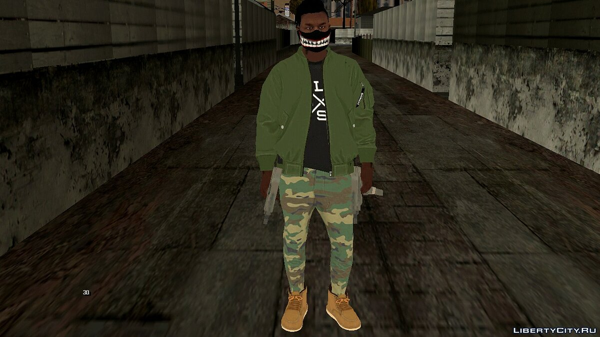 New character Guy from GTA Online for GTA San Andreas (iOS, Android)