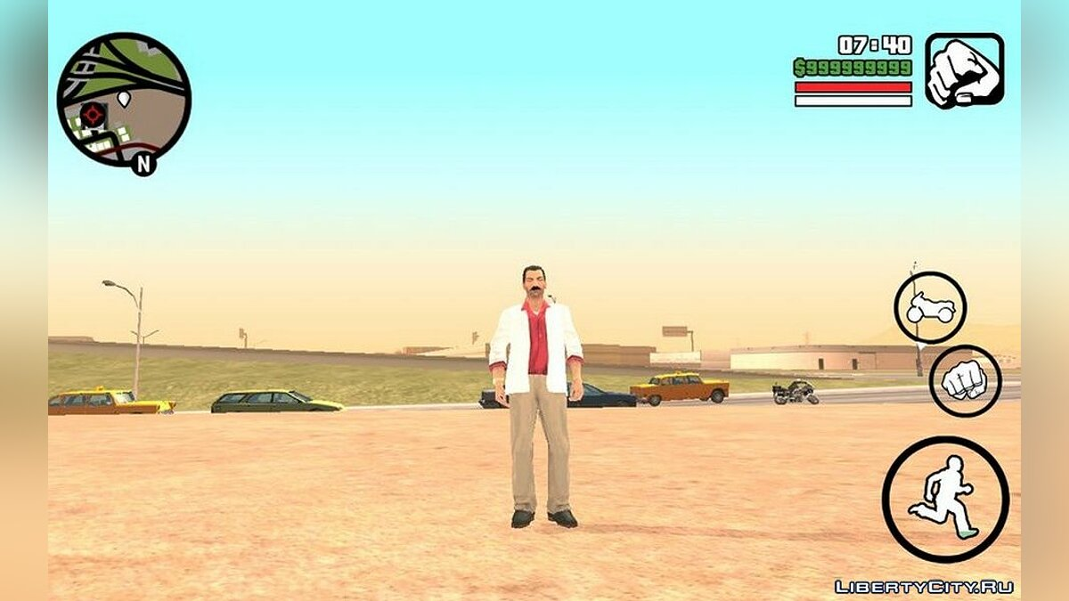 New character Tommy Versetti (90s) for GTA San Andreas (iOS, Android)