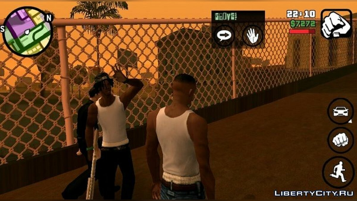 New character New FAM2 with dreadlocks for GTA San Andreas (iOS, Android)