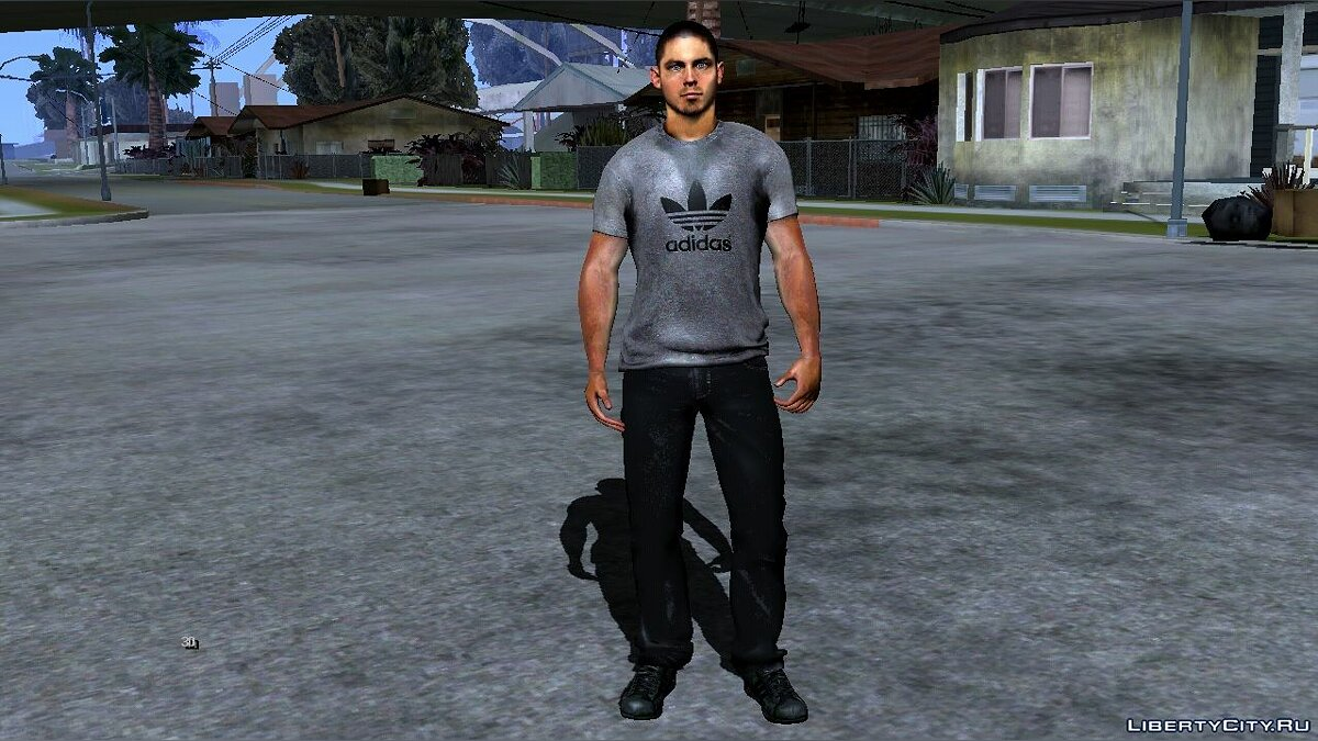 New character Jack Rourke from NFS The Run for GTA San Andreas (iOS, Android)