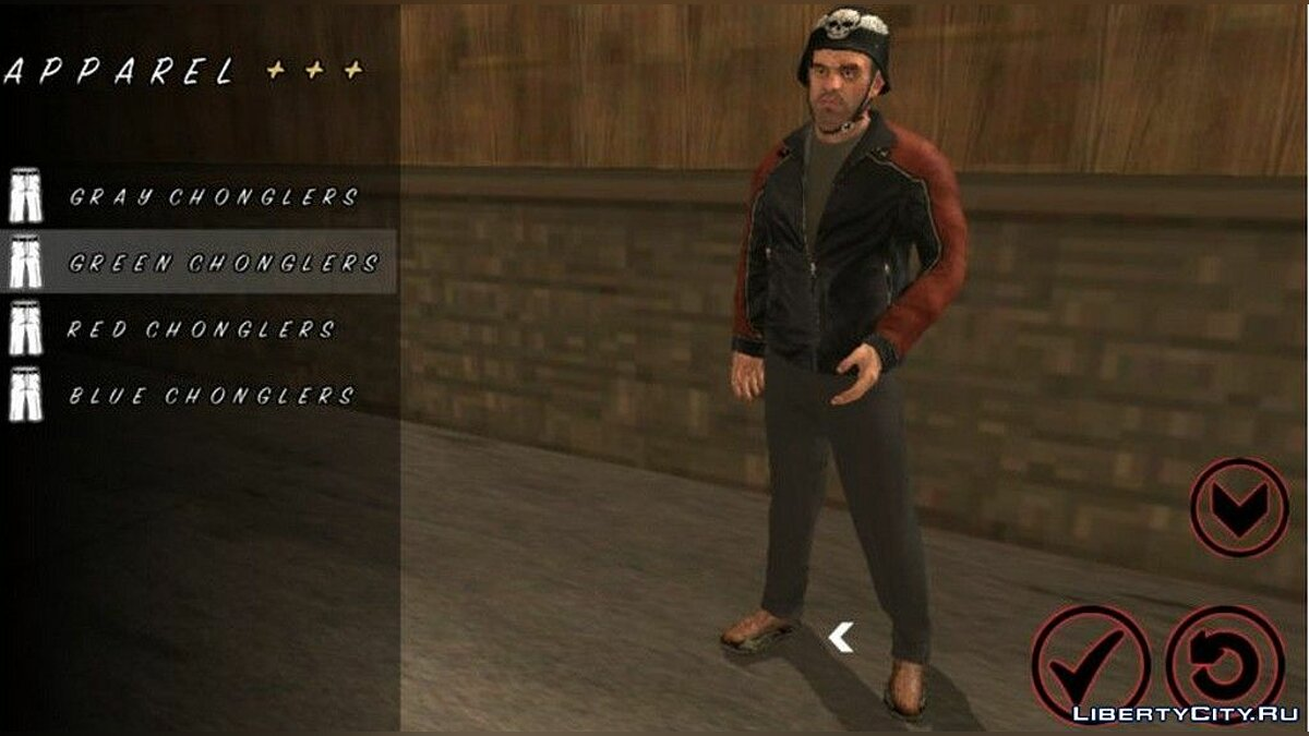 Trevor Phillips Skin for GTA San Andreas (iOS, Android) - Картинка #2