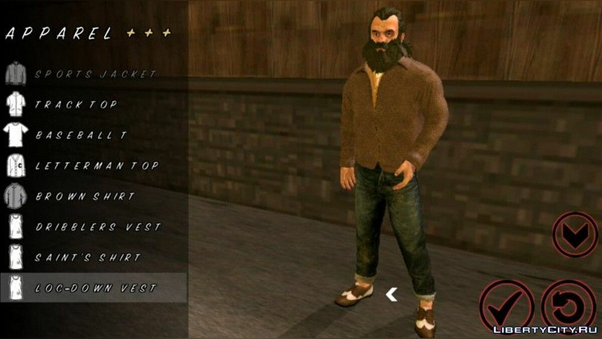 Trevor Phillips Skin for GTA San Andreas (iOS, Android) - Картинка #3