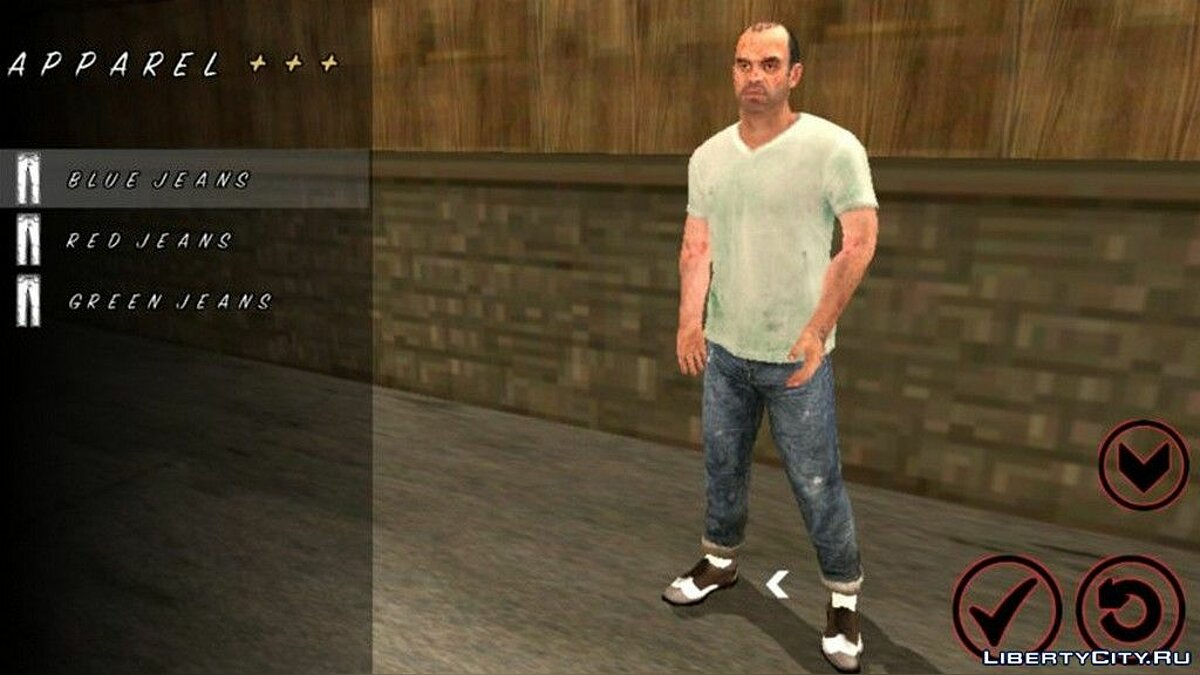 Trevor Phillips Skin for GTA San Andreas (iOS, Android) - Картинка #1