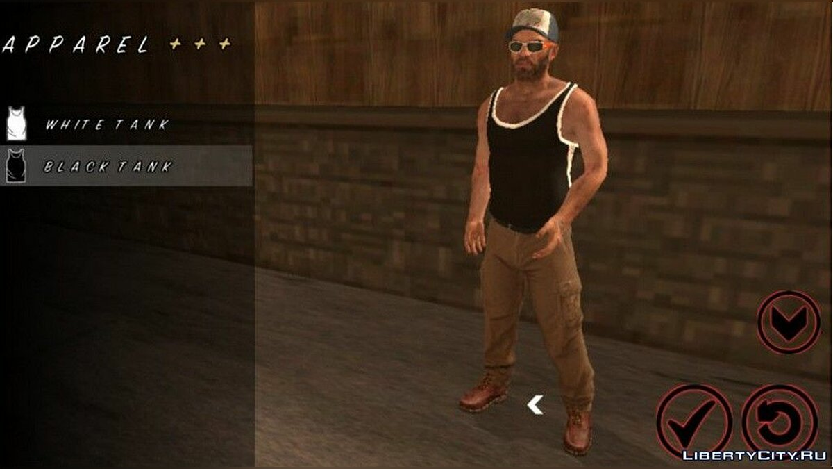 Trevor Phillips Skin for GTA San Andreas (iOS, Android) - Картинка #4