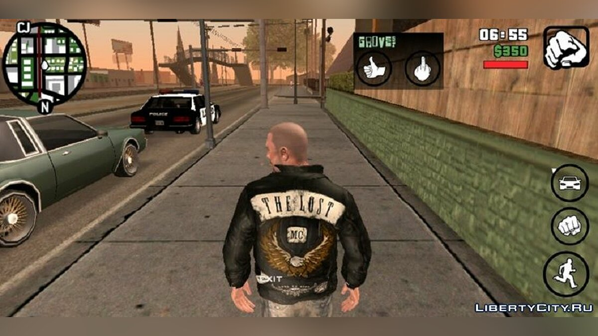 New character Johnny Klebitz instead of Karl for GTA San Andreas (iOS, Android)