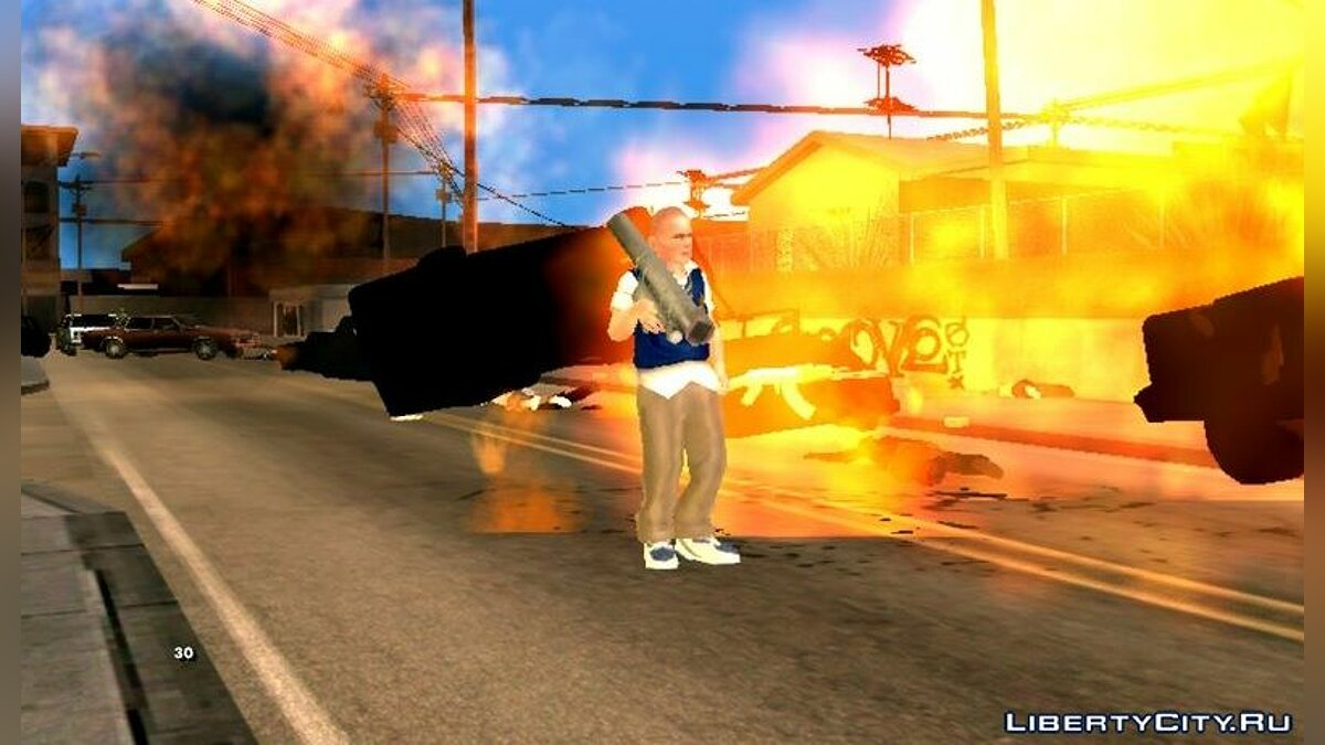 New character Skin from the game Bully for GTA San Andreas (iOS, Android)