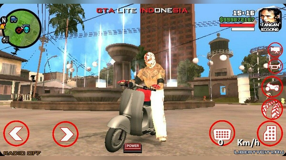 New character Skin character Rey Mysterio for GTA San Andreas (iOS, Android)