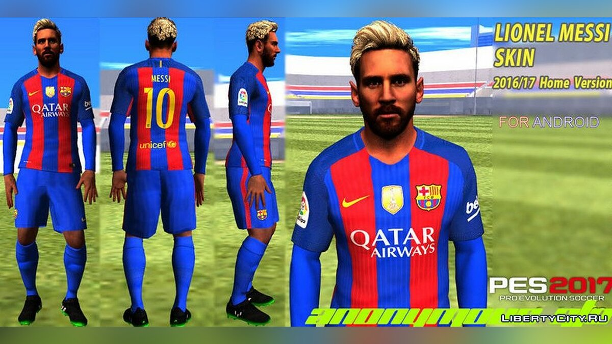New character Messi for GTA San Andreas (iOS, Android)