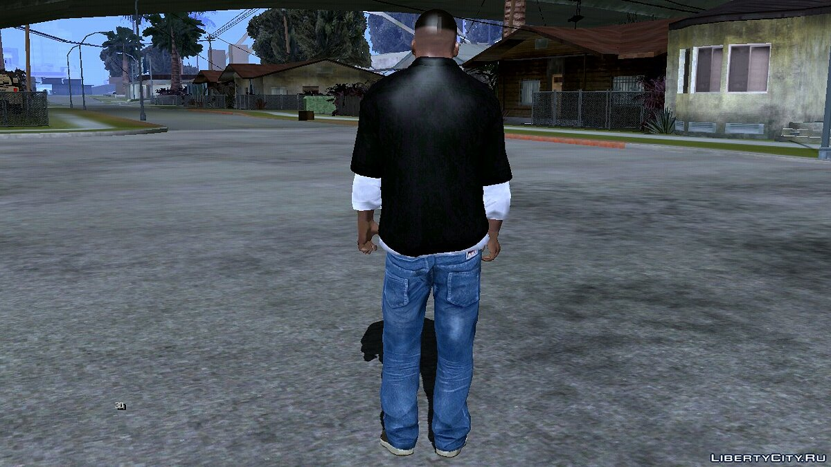 New character Franklin from GTA 5 for GTA San Andreas (iOS, Android)