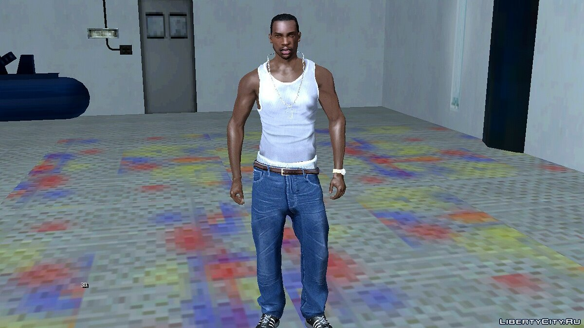 New character Play as an improved CJ for GTA San Andreas (iOS, Android)