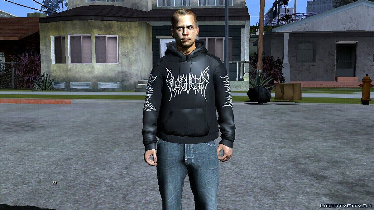 Paul Walker for GTA San Andreas (iOS, Android) - Картинка #3