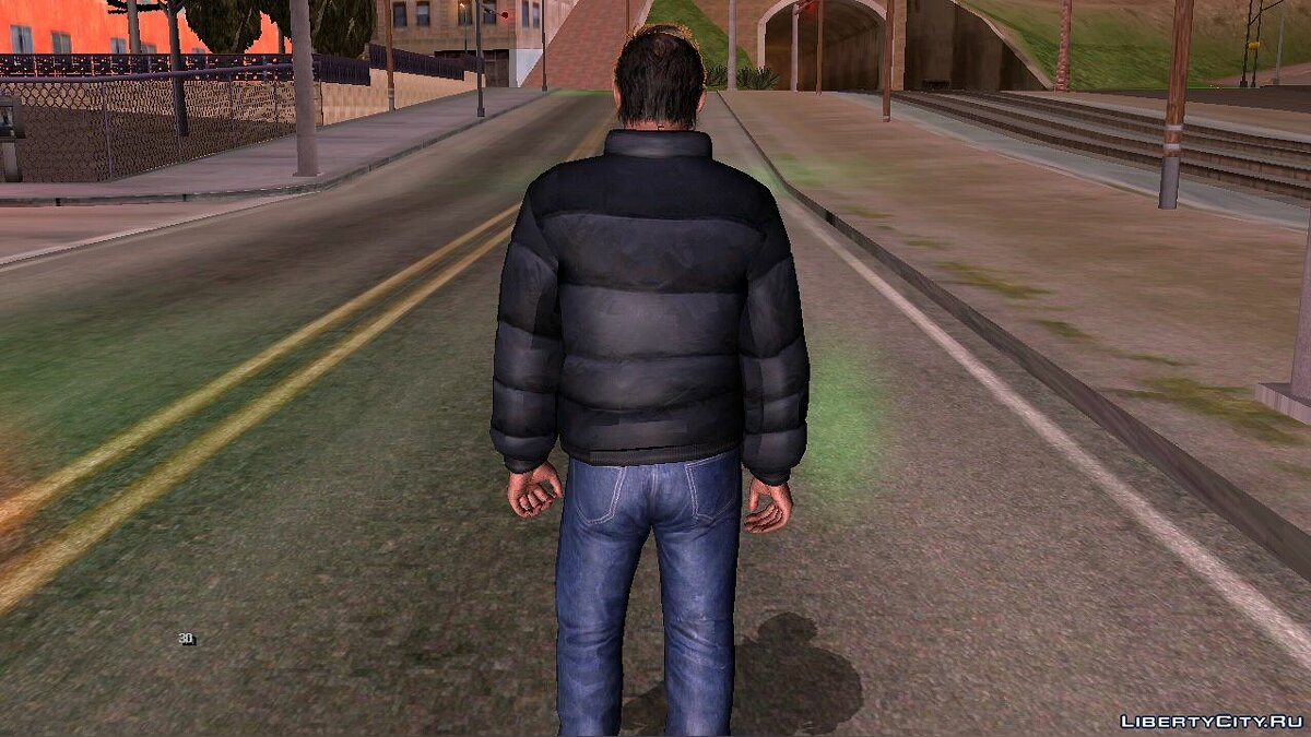 New character Trevor Winter Skin for GTA San Andreas (iOS, Android)
