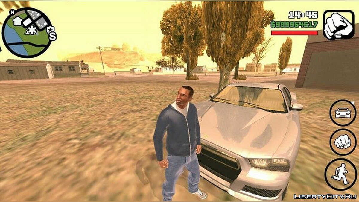New character CJ in HD quality for GTA San Andreas (iOS, Android)