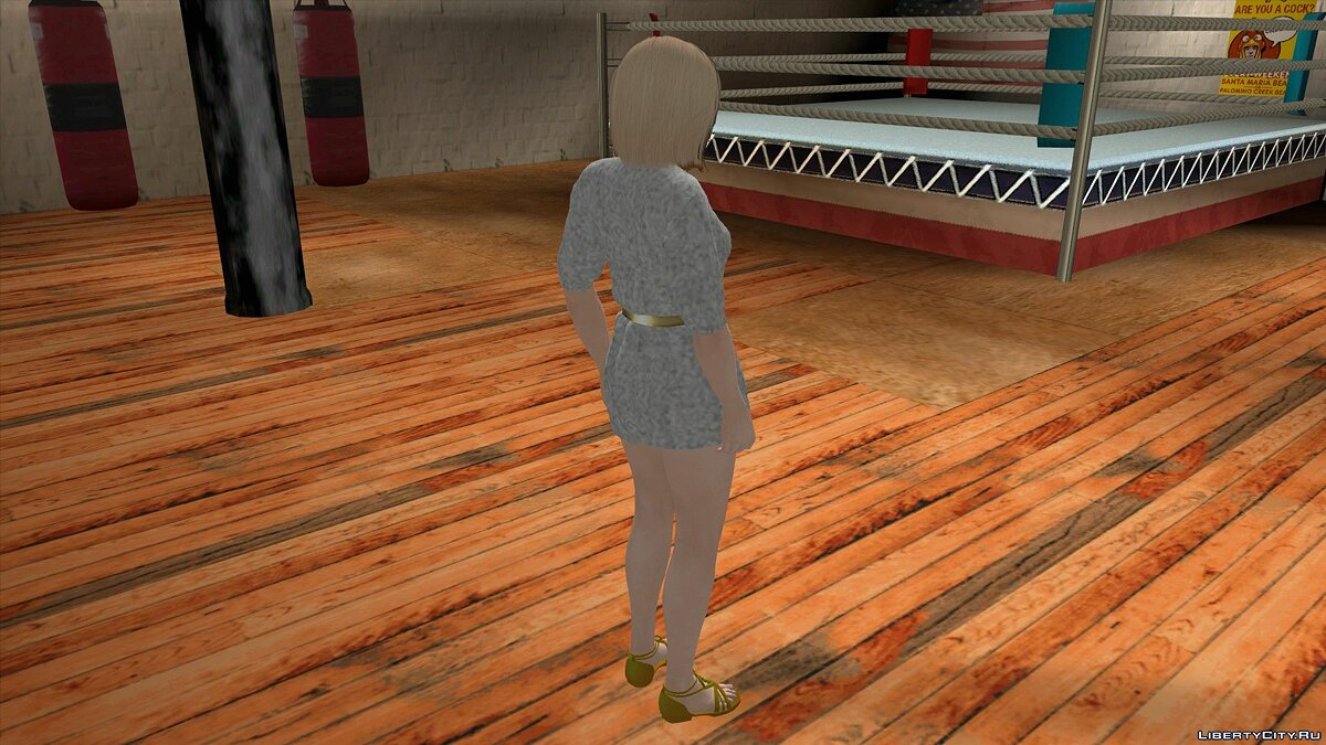 New character Helena Douglas in Casual Wear v17 for GTA San Andreas (iOS, Android)