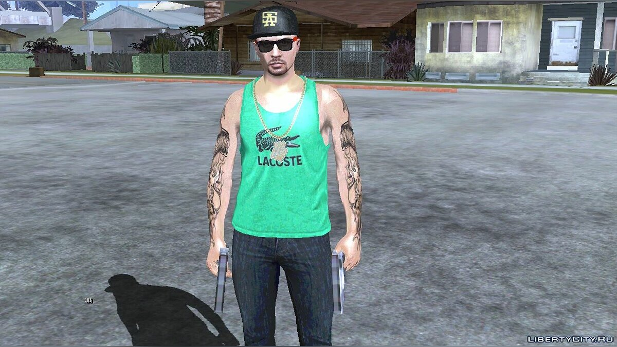 New character GTA Online random male skin # 2 for GTA San Andreas (iOS, Android)