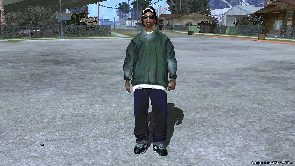 New character Carl in Ryder's clothes for GTA San Andreas (iOS, Android)