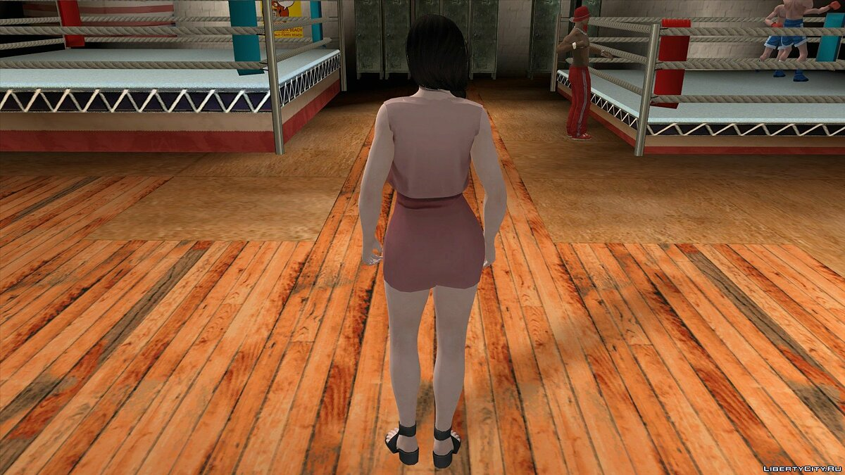 New character Kokoro in Casual Wear v7 for GTA San Andreas (iOS, Android)