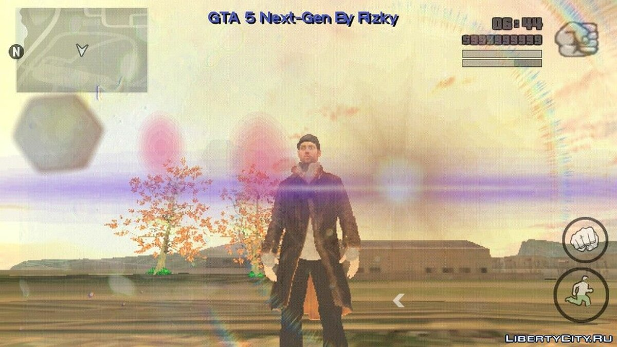 New character Aiden Pearce for GTA San Andreas (iOS, Android)