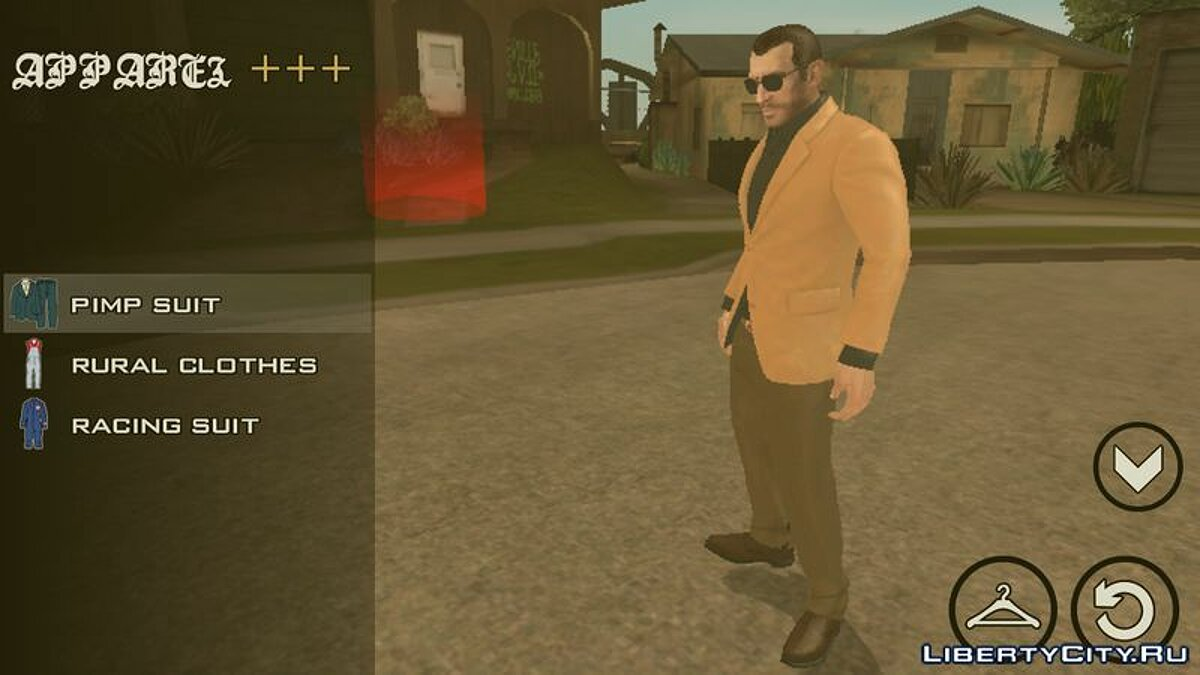 New character Нико Беллик for GTA San Andreas (iOS, Android)