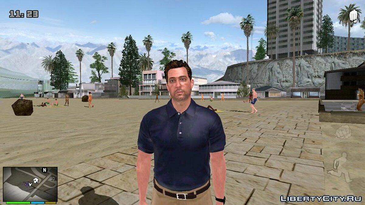 New character Skins from GTA 5 for GTA San Andreas (iOS, Android)