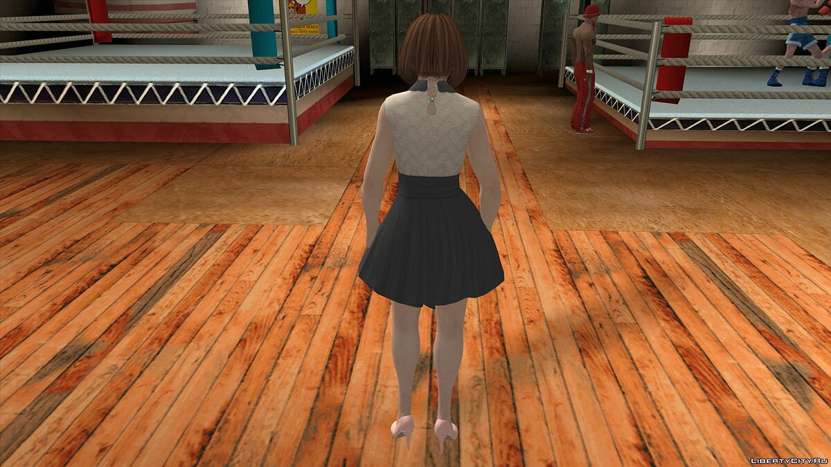 New character Kasumi in Casual Wear v9 for GTA San Andreas (iOS, Android)