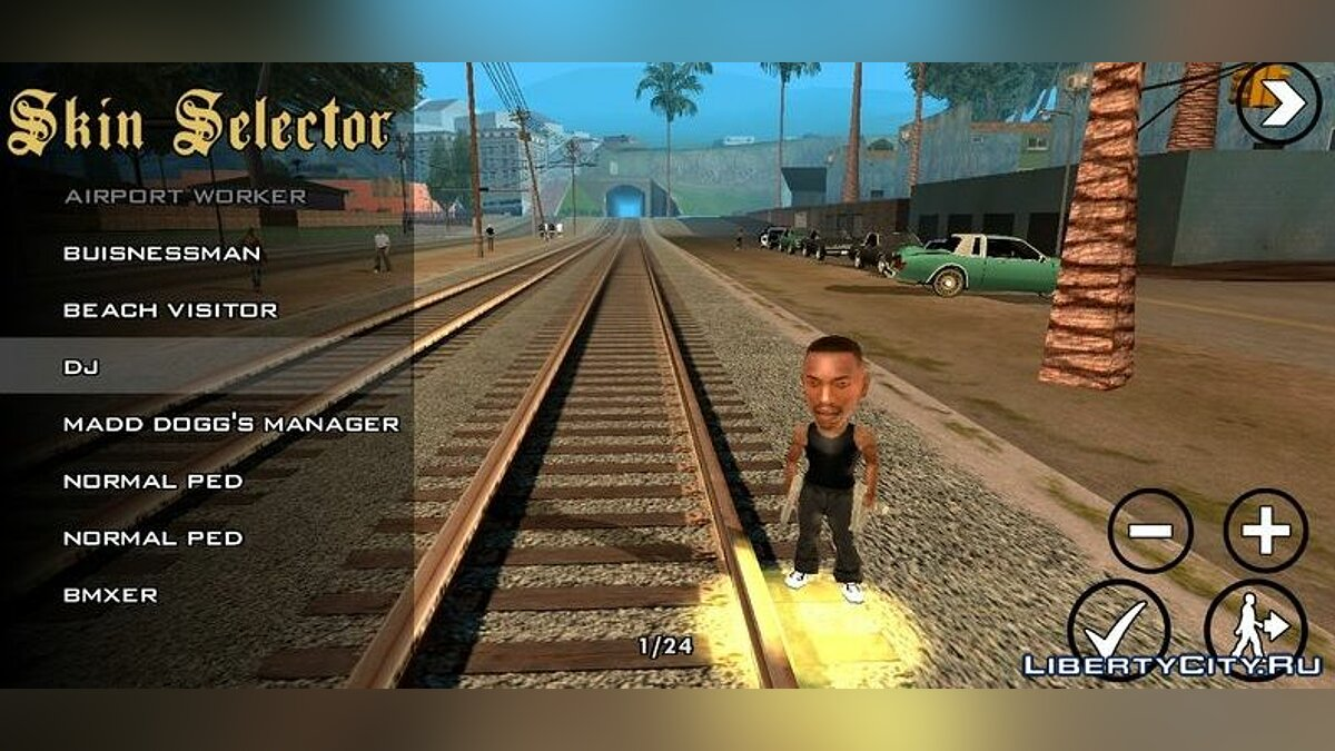 New character Little carl for GTA San Andreas (iOS, Android)