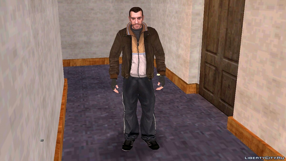 New character Niko Bellic instead of Karl for GTA San Andreas (iOS, Android)