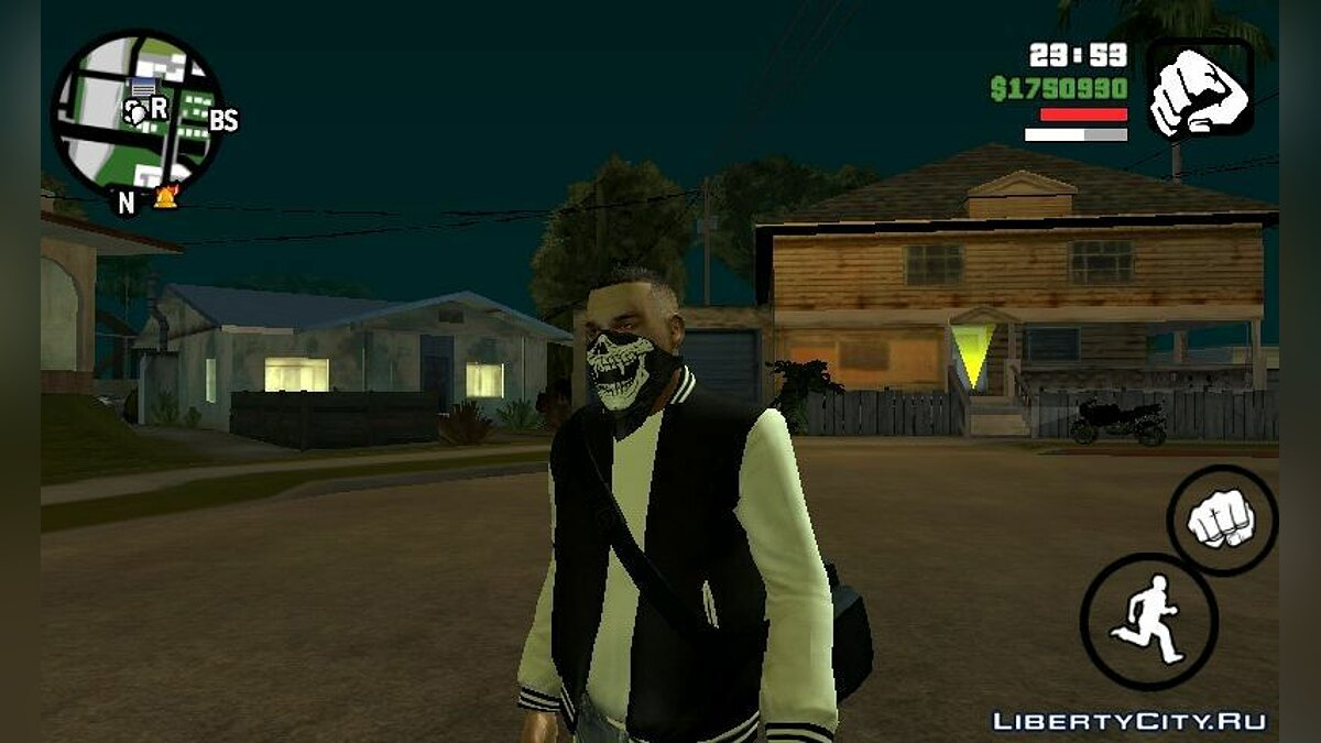 New character Luis Lopez for GTA San Andreas (iOS, Android)