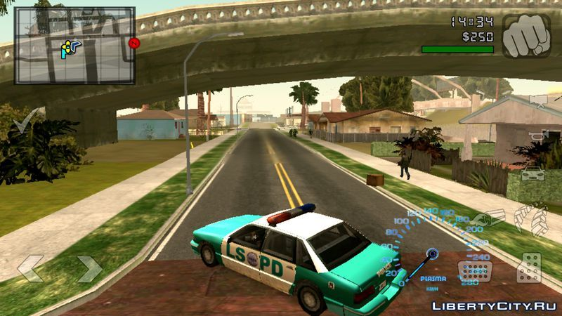 New textures for GTA San Andreas (iOS, Android): 109 texture