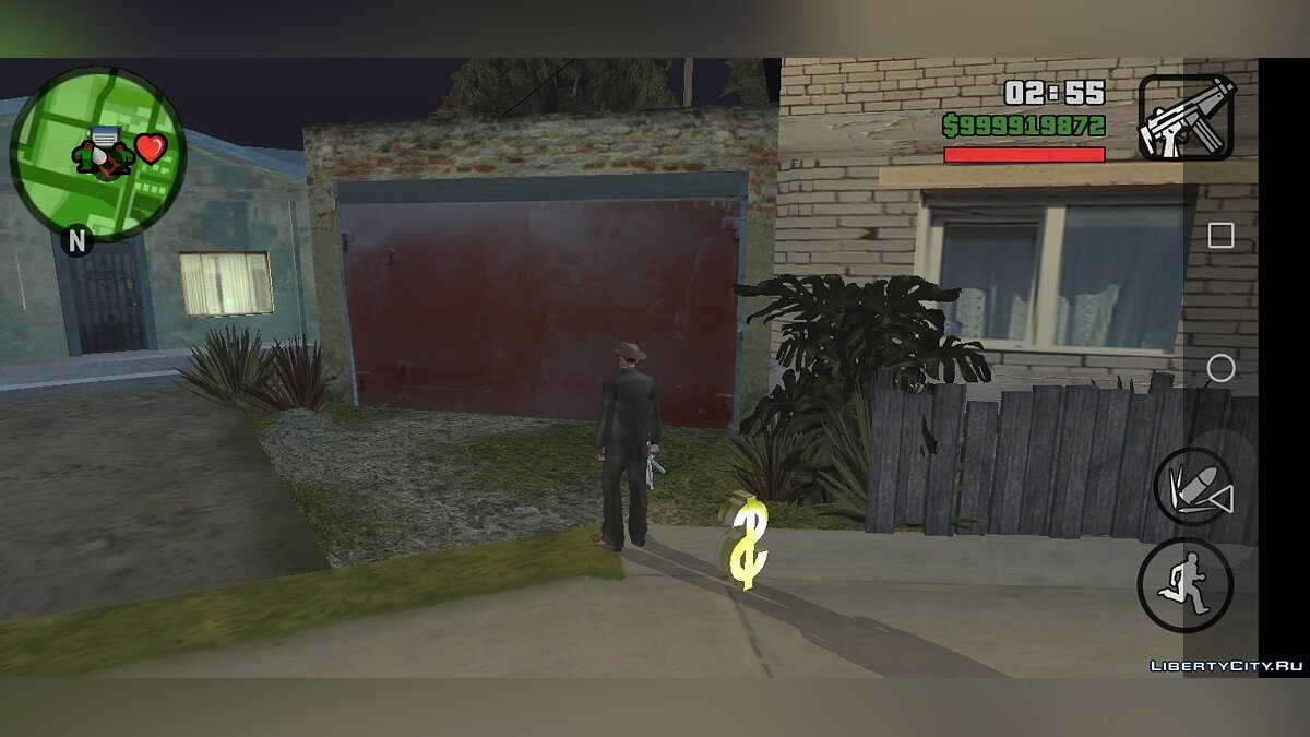 Texture mod Soviet appearance of the house of Karl for GTA San Andreas (iOS, Android)