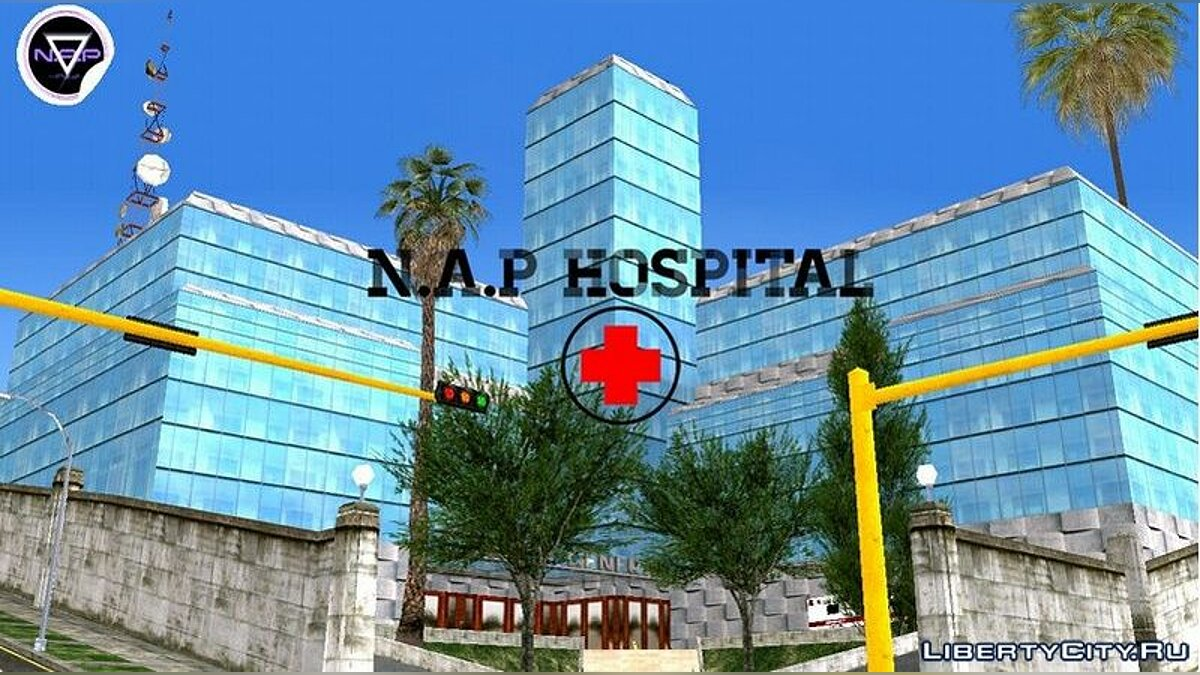 Texture mod Hospital N.A.P in HD for GTA San Andreas (iOS, Android)