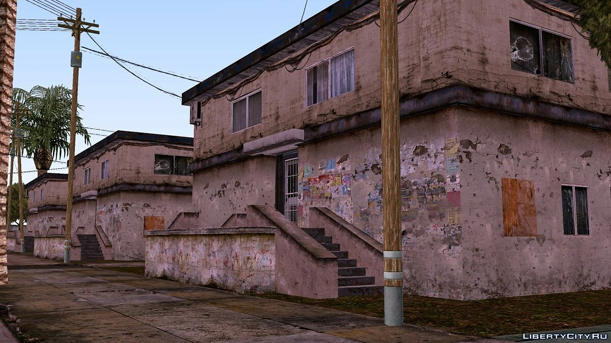 Texture mod Superior Willowfield PaulST for GTA San Andreas (iOS, Android)