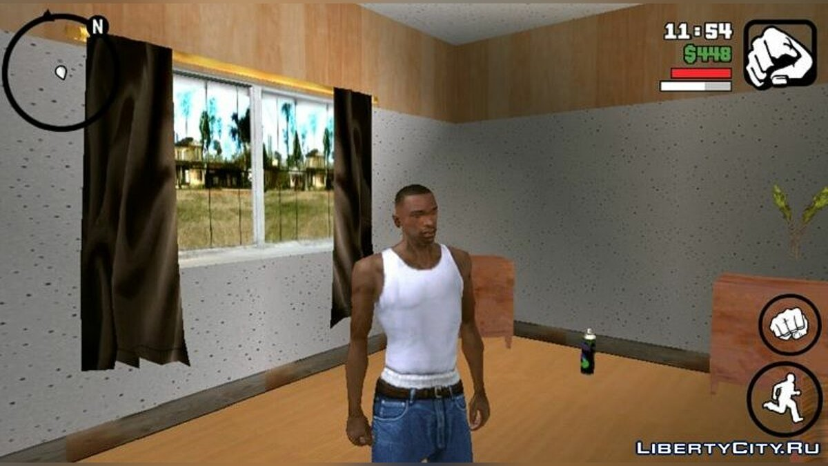 Texture mod New interior for home for GTA San Andreas (iOS, Android)