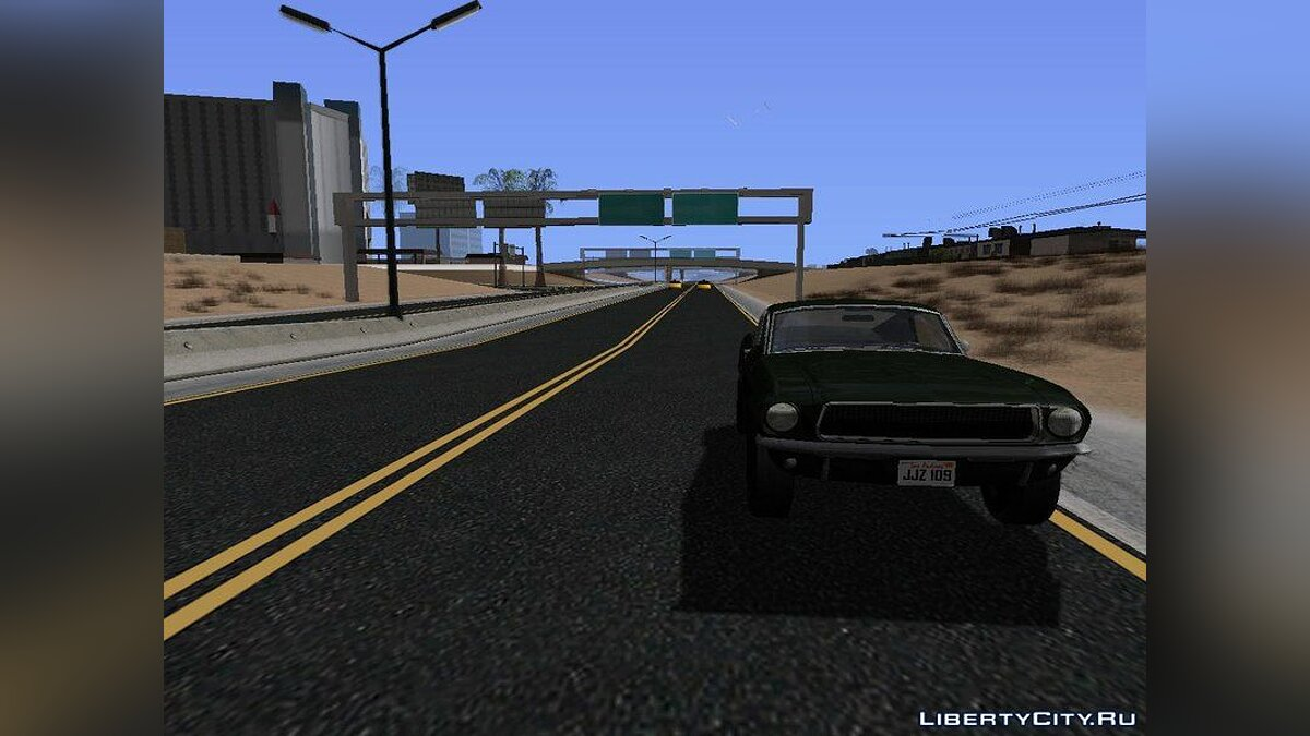 Texture mod New Roads in Las Venturas (V Styled) v1.0 - New roads in Las Venturas for GTA San Andreas (iOS, Android)